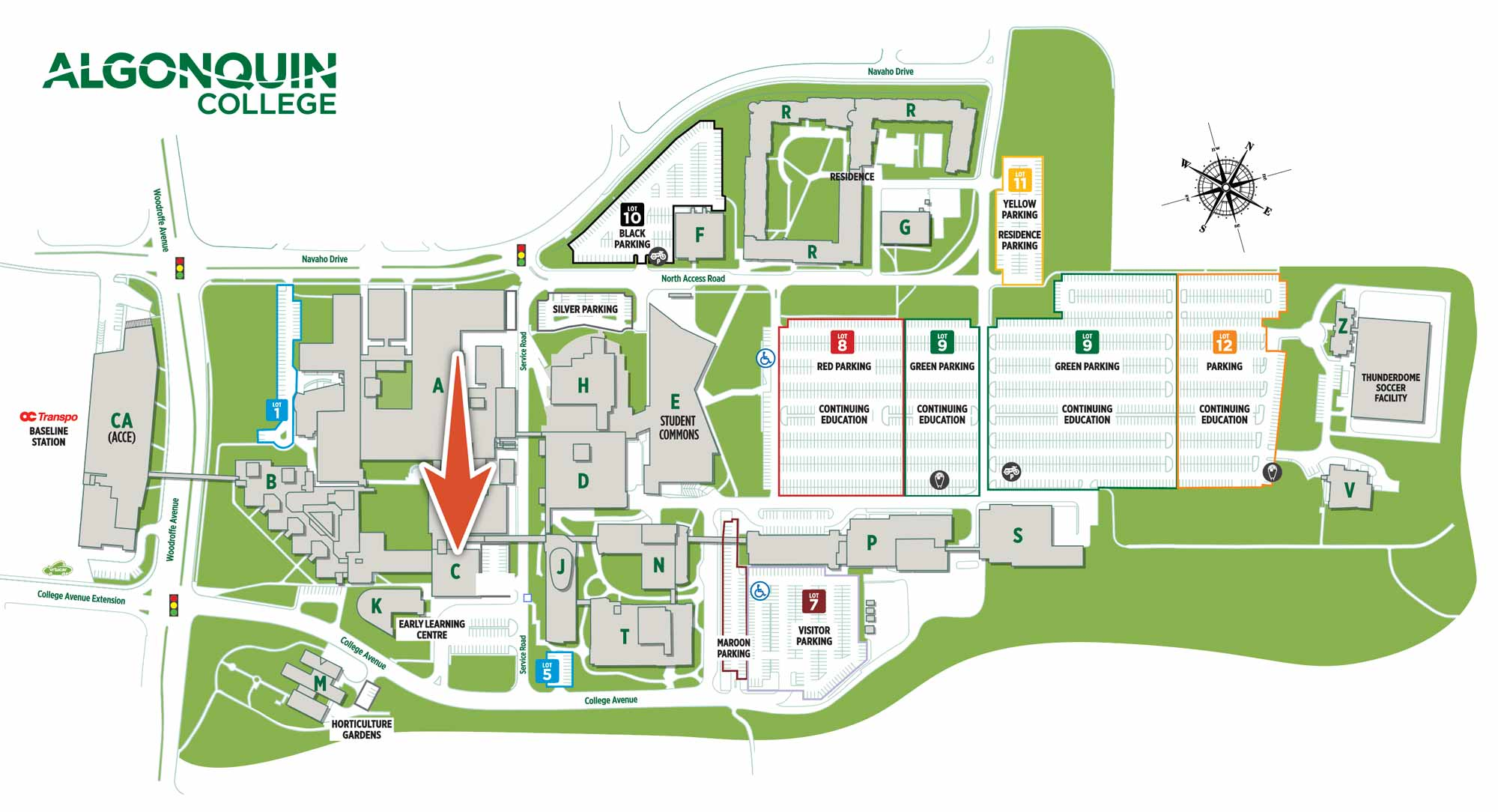 algonquin college map of campus Ac Computer Graphics Designthinkers algonquin college map of campus
