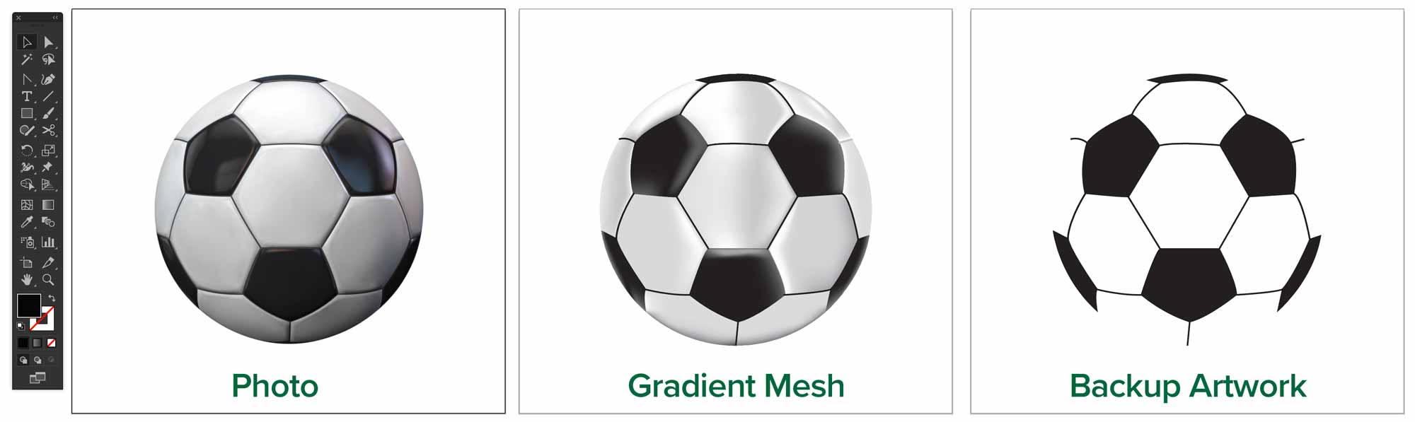 gradient-mesh-soccer-ball