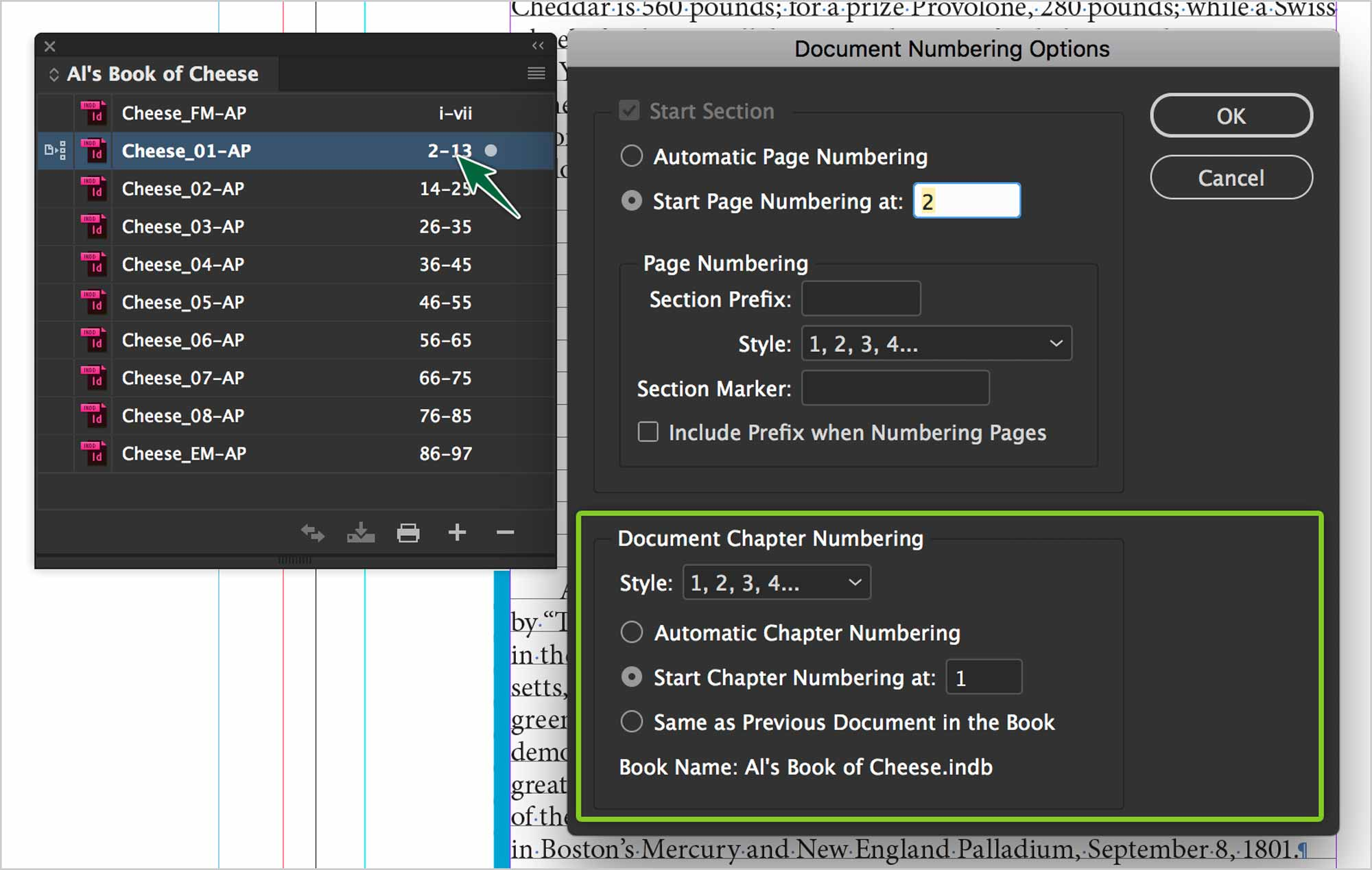 indesign-books-chapter-numbering