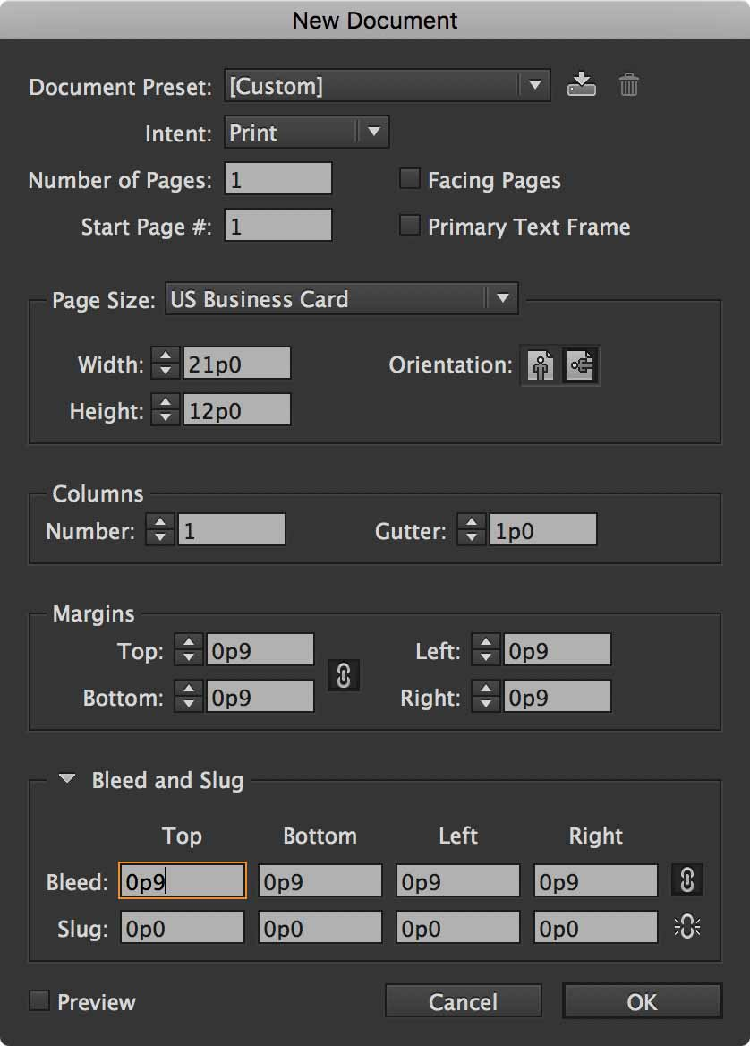 indesign-data-merge-document-setup