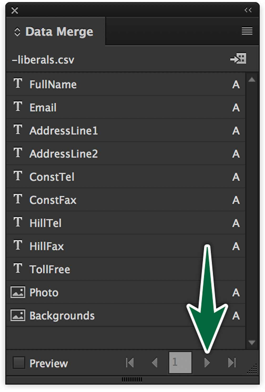 indesign-data-merge-panel-preview