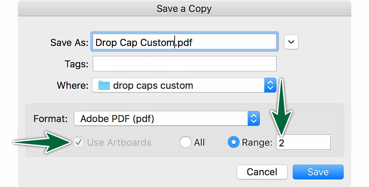 indesign-drop-cap-save-a-copy