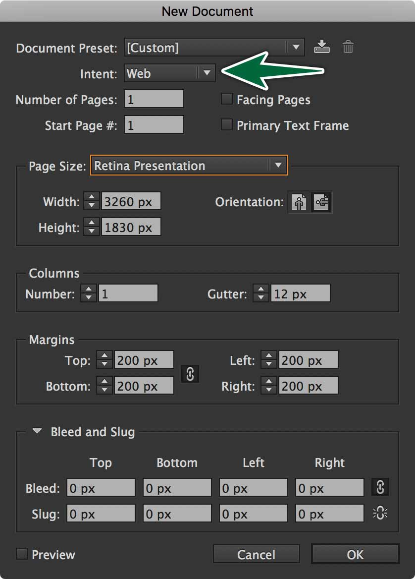 indesign-new-document-dialogue