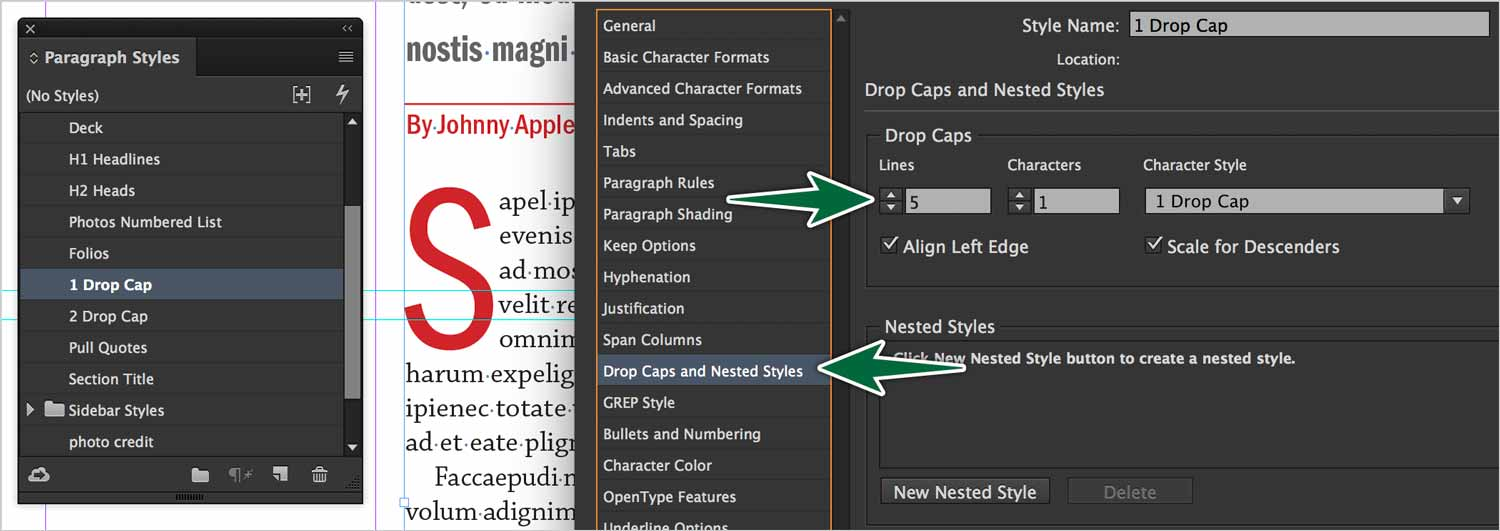 indesign-drop-caps-style