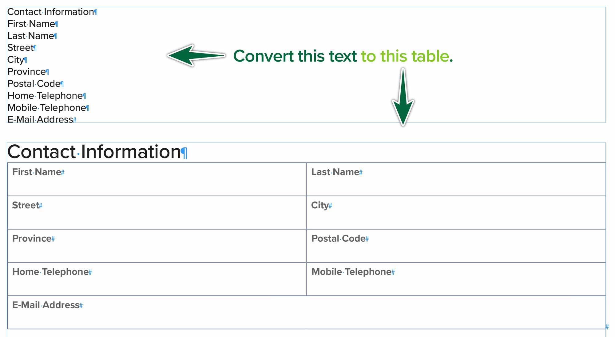 indesign-table-from-list