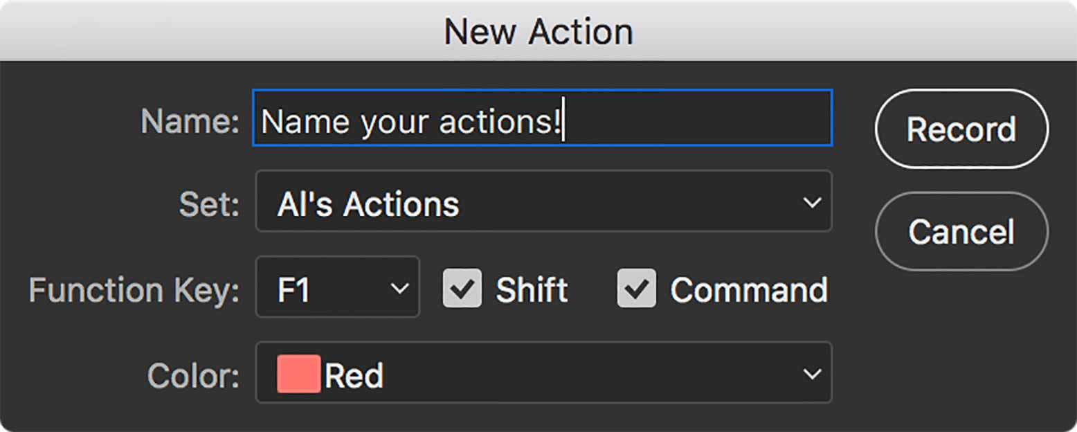 photoshop-new-action-dialogue