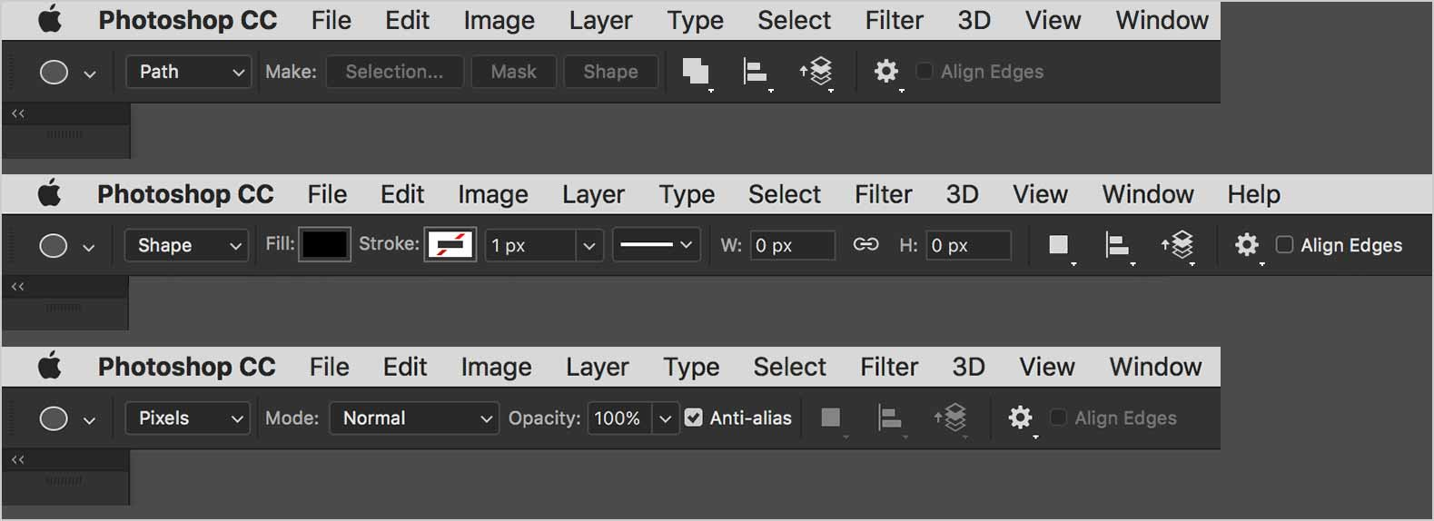 photoshop-vector-options-bar